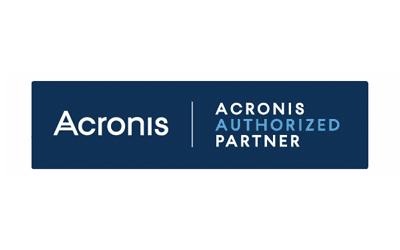 Acronis authorized partner logo