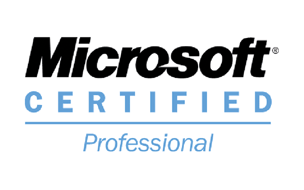 Logo Microsoft certified Professional