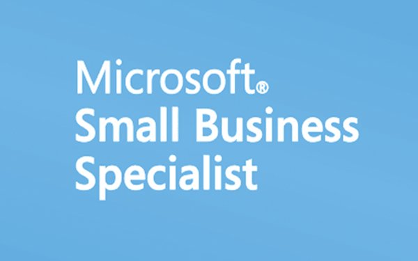 Logo certified Microsoft SmallBusiness partner